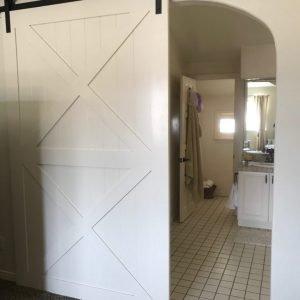 014. Double X Panel Door